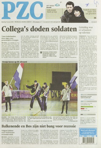 Provinciale Zeeuwse Courant 2008-01-14
