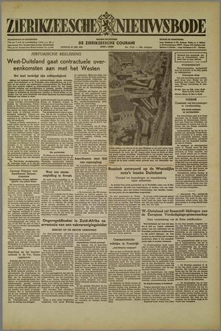 Zierikzeesche Nieuwsbode 1952-05-27