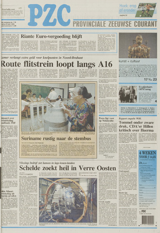 Provinciale Zeeuwse Courant 1996-05-24