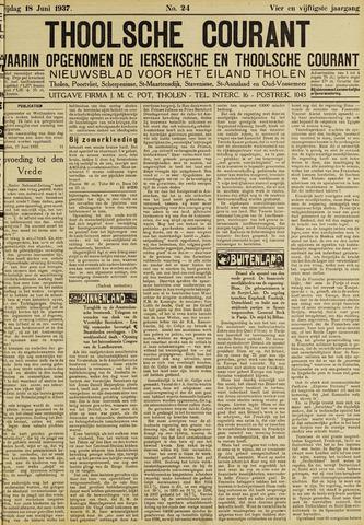 Ierseksche en Thoolsche Courant 1937-06-18