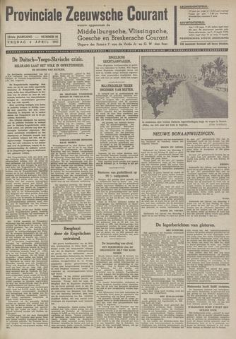 Provinciale Zeeuwse Courant 1941-04-04