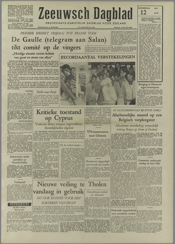 Zeeuwsch Dagblad 1958-06-12