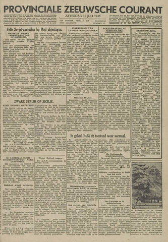Provinciale Zeeuwse Courant 1943-07-31