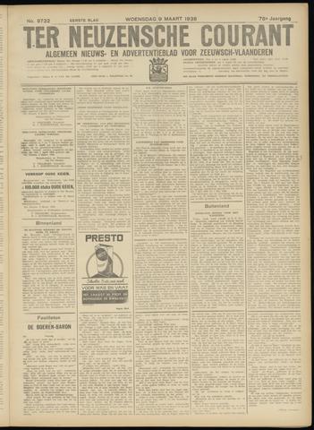 Ter Neuzensche Courant. Algemeen Nieuws- en Advertentieblad voor Zeeuwsch-Vlaanderen / Neuzensche Courant ... (idem) / (Algemeen) nieuws en advertentieblad voor Zeeuwsch-Vlaanderen 1938-03-09
