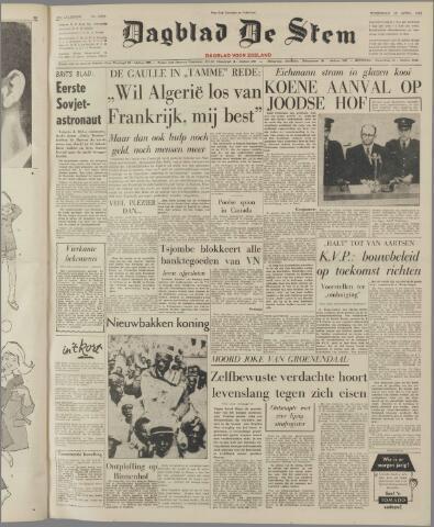 de Stem 1961-04-12