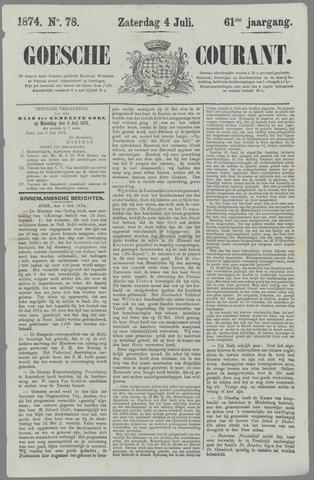 Goessche Courant 1874-07-04