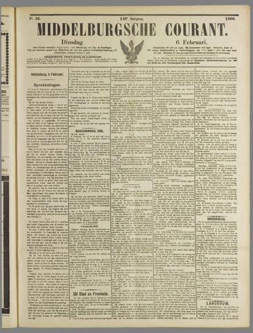 Middelburgsche Courant 1906-02-06