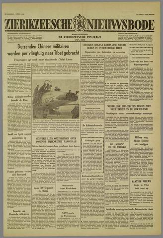 Zierikzeesche Nieuwsbode 1959-04-02