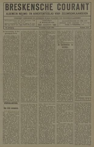 Breskensche Courant 1924-07-16