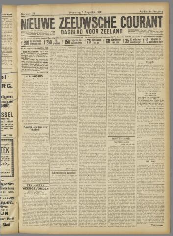 Nieuwe Zeeuwsche Courant 1922-08-02
