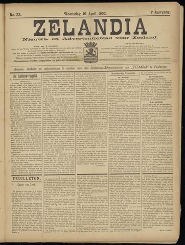 Zelandia. Nieuws-en advertentieblad voor Zeeland | edities: Het Land van Hulst en De Vier Ambachten 1902-04-16