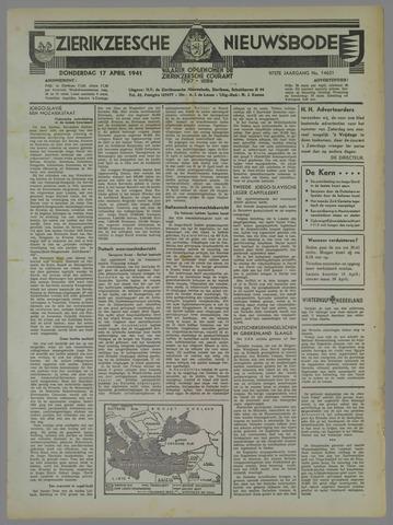 Zierikzeesche Nieuwsbode 1941-04-17