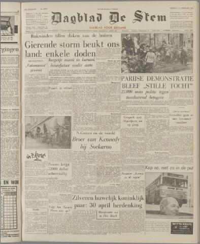 de Stem 1962-02-13