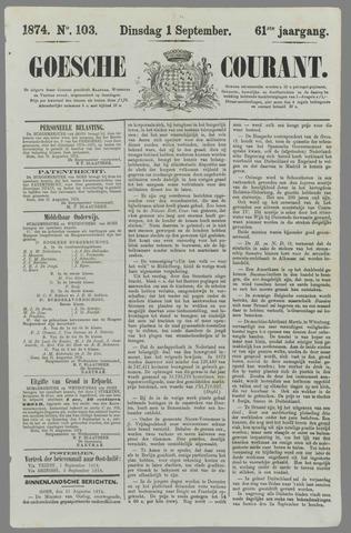 Goessche Courant 1874-09-01