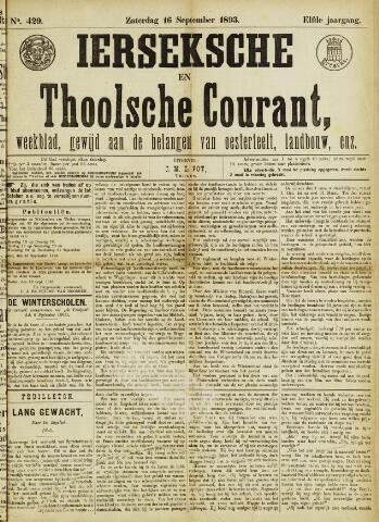 Ierseksche en Thoolsche Courant 1893-09-16