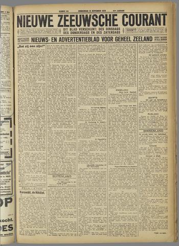 Nieuwe Zeeuwsche Courant 1923-11-15