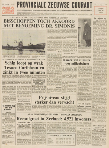 Provinciale Zeeuwse Courant 1971-01-13