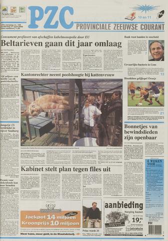 Provinciale Zeeuwse Courant 2000-04-27