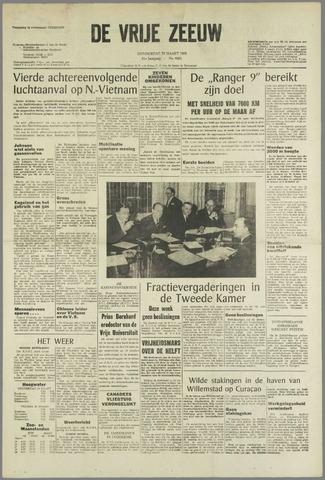 de Vrije Zeeuw 1965-03-25