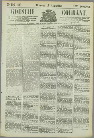 Goessche Courant 1915-08-31