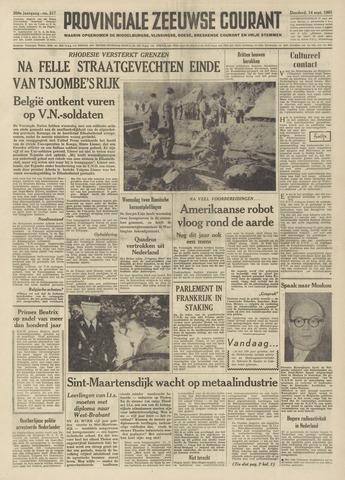 Provinciale Zeeuwse Courant 1961-09-14