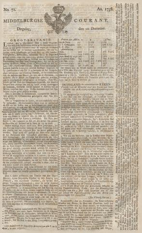 Middelburgsche Courant 1758-12-12