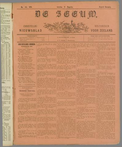 De Zeeuw. Christelijk-historisch nieuwsblad voor Zeeland 1895-08-31
