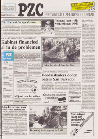 Provinciale Zeeuwse Courant 1989-11-17