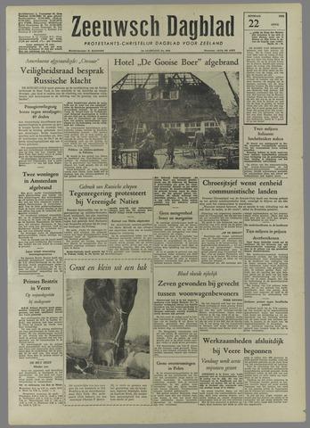 Zeeuwsch Dagblad 1958-04-22