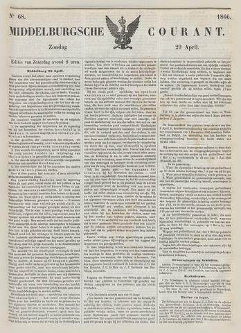 Middelburgsche Courant 1866-04-29