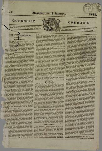 Goessche Courant 1844