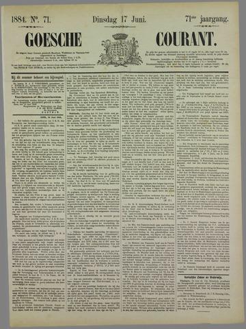 Goessche Courant 1884-06-17