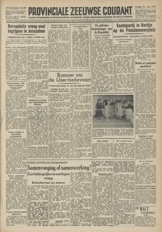 Provinciale Zeeuwse Courant 1948-08-20