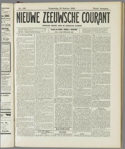 Nieuwe Zeeuwsche Courant 1908-10-29