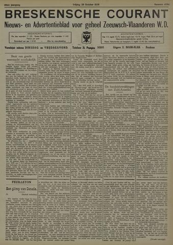 Breskensche Courant 1938-10-28