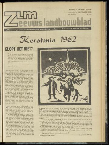 Zeeuwsch landbouwblad ... ZLM land- en tuinbouwblad 1962-12-21