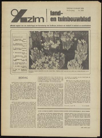 Zeeuwsch landbouwblad ... ZLM land- en tuinbouwblad 1970-03-11