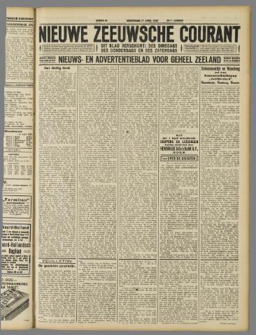 Nieuwe Zeeuwsche Courant 1930-04-17