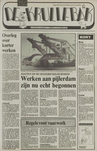 Provinciale Zeeuwse Courant katern Krullenbak (1981-1999) 1982-12-14
