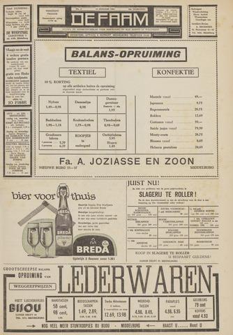 de Faam en de Faam/de Vlissinger 1962-01-12