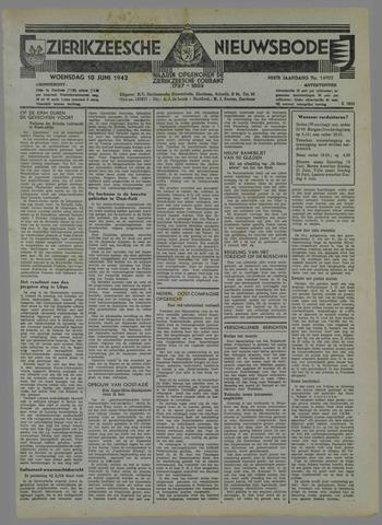 Zierikzeesche Nieuwsbode 1942-06-10