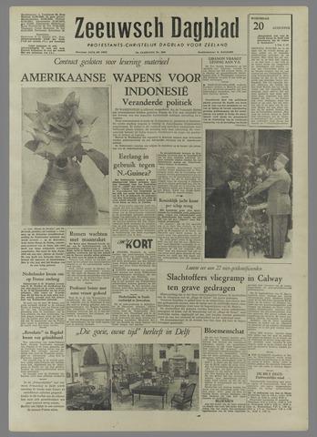 Zeeuwsch Dagblad 1958-08-20