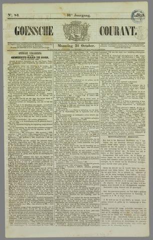 Goessche Courant 1859-10-31