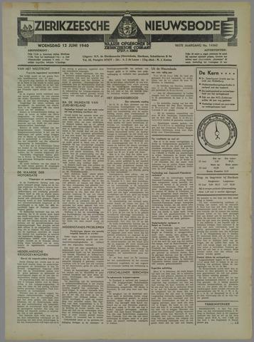 Zierikzeesche Nieuwsbode 1940-06-12