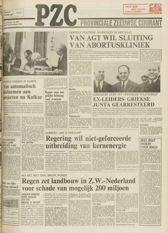 Provinciale Zeeuwse Courant 1974-10-24
