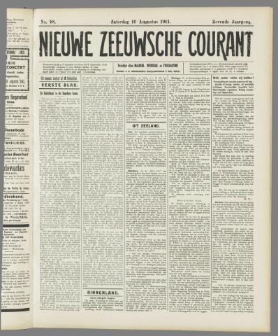 Nieuwe Zeeuwsche Courant 1911-08-19