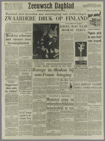 Zeeuwsch Dagblad 1961-11-17
