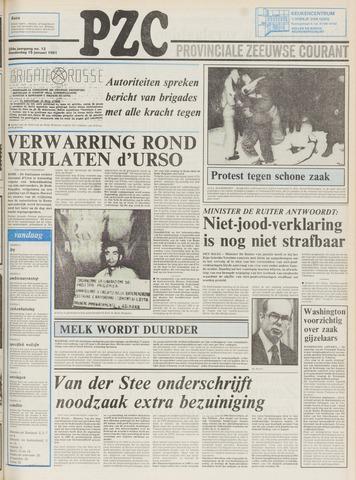 Provinciale Zeeuwse Courant 1981-01-15