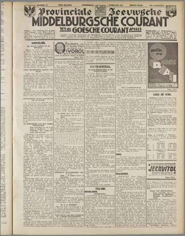Middelburgsche Courant 1935-02-07