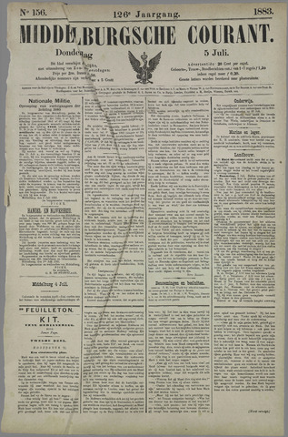 Middelburgsche Courant 1883-07-05